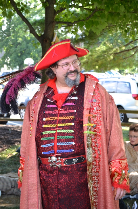 Fishers Renaissance Faire performer at the Indiana Bastille Day 2013