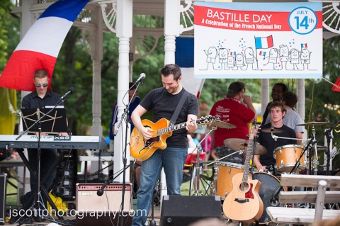Aaron J. Robinson at Indiana Bastille Day 2012